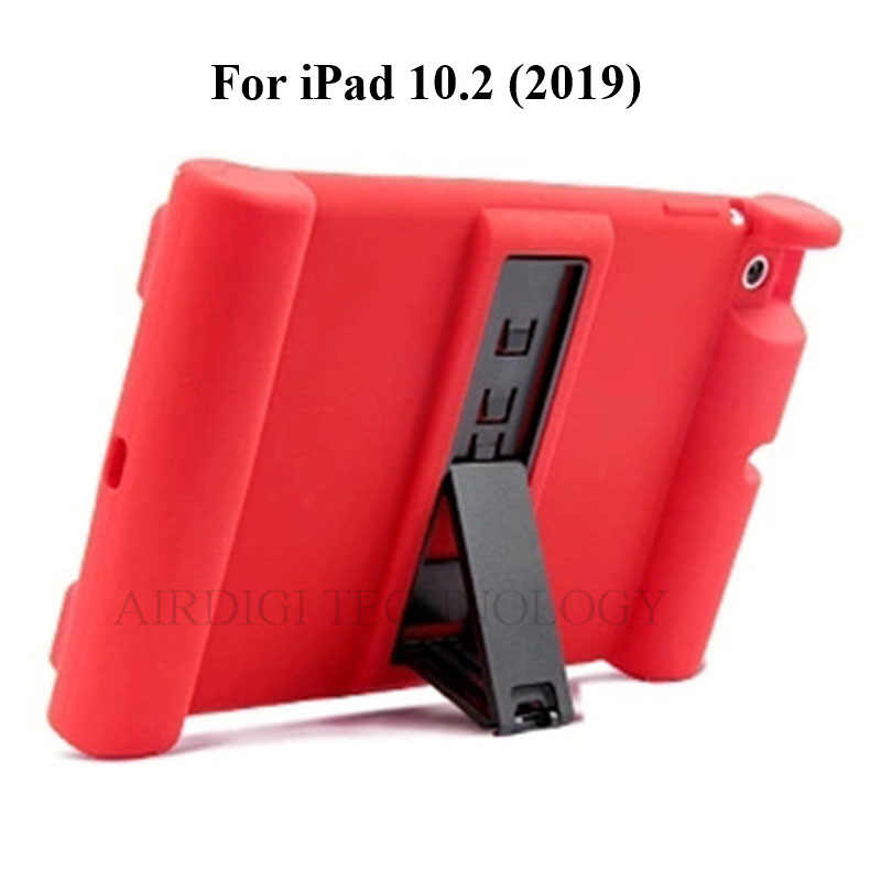 Shockproof 10.2 A2270 Soft A2197 A2200 Kickstand Case iPad Silicone A2428 Cover A2198 for