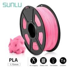 SUNLU PLA PLUS/PLA 1.75mm 1KG/2.2lb 3D Printer Filament Spool DIY creative toys printing full color support bulk order