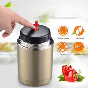 Image 4 - ONEUP Large Capacity 800ML/1000ML Double Stainless Thermos Lunch Box 2019 Vacuum Flasks Portable Lunch Bento Box Food Container