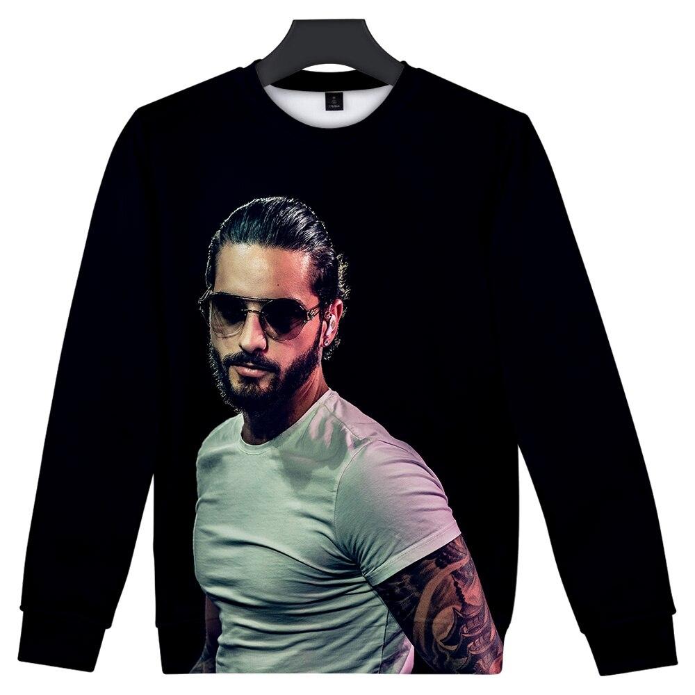 Hot Maluma 3D Print Sweatshirt Men/Women Hip Hop Hoodies Maluma Sweatshirt 3D Capless Sweatshirt Polluver Boys/Girls Tops