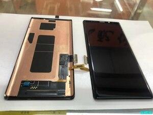 Image 1 - ЖК дисплей с сенсорным экраном для Samsung Galaxy Note 9, 100% оригинальный дигитайзер в сборе N960 N960F N960D N960DS, ЖК дисплей с рамкой