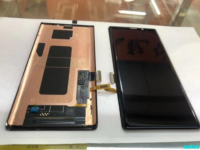 ЖК дисплей с сенсорным экраном для Samsung Galaxy Note 9, 100% оригинальный дигитайзер в сборе N960 N960F N960D N960DS, ЖК дисплей с рамкой