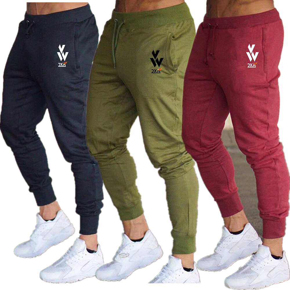 2019 Spring Men Jogging Pants GYM Training Pant Sportswear Joggers Sports Pants Men Running Swearing Pants Jogging Sweatpants