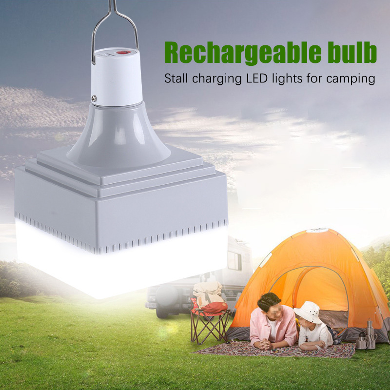 Portable LED Camping Light USB Rechargeable LED Bulb For Outdoor Camping Lamp 3 Mode Lanterns Emergency Lights For BBQ Hiking