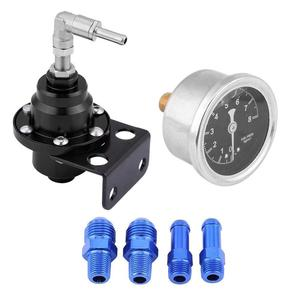 Usually Adjustable Fuel Pressure Regulator Control Gas Saver Economy Improve Car Performance Auto Parts Gasoline Regulator New