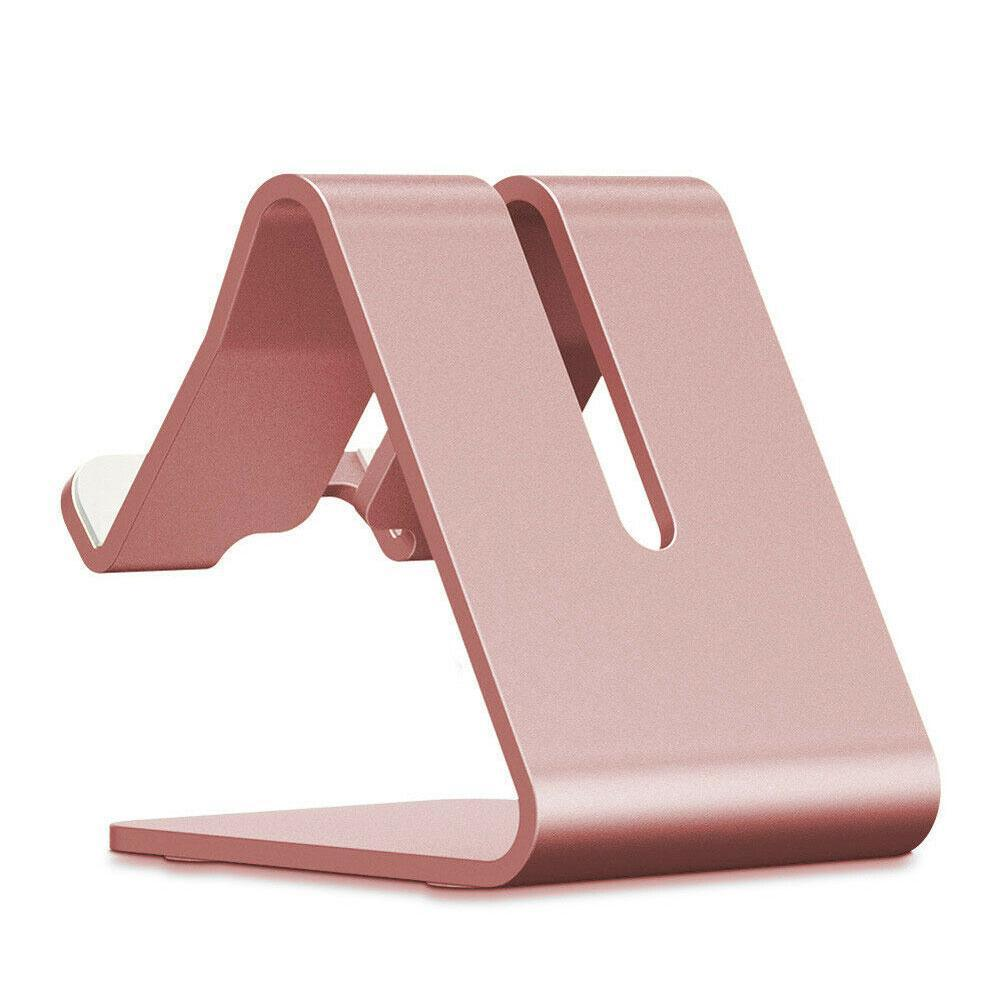 1PC Universal Phone Holder Durable Cellphone Stand stand Holder Mount Alloy Mobile Sturdy Table Stand Desk For PC Aluminum H0W6