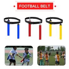 American Football Match Training Belt Rugby Flag Training Tag Waist Strap Flag Adjustable Ribbon Professional Free Size Belt