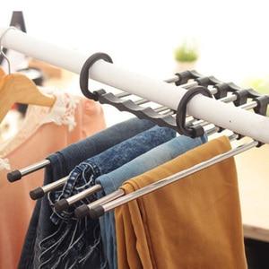 Folding Scarf Shawl Hanger Hook Rack Design Organizer Space Saving Easy