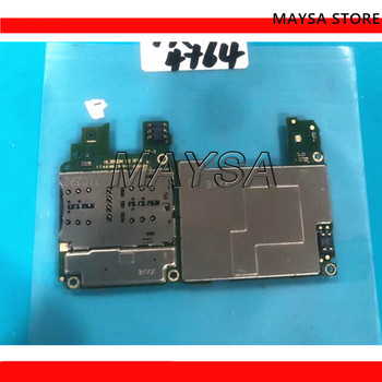 Electronic panel mainboard Motherboard unlocked with chips Circuits flex Cable For Huawei Honor 7X BND-AL10