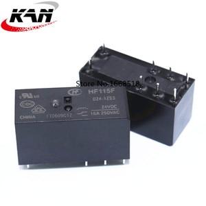 Image 4 - 10pcs Relay HF115F 005 1ZS3 HF115F 012 1ZS3 HF115F 024 1ZS3 250V 16A relay 8 pin relay 5V/12V/24VDC relay