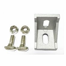 20pcs / 40pcs M5 M6 M8 T type Nuts Fastener Aluminum Connector Flange hex nut For Profile DIY cnc router laser machine