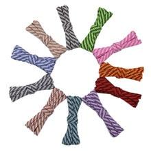 Weiou – lacets plats en Polyester pour hommes et femmes, lacets officiels unisexes pour bottes, 7MM