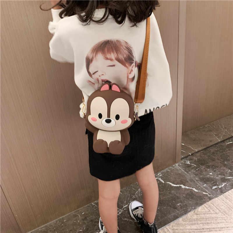 Lustige Nette Cartoon Luxus Handtaschen Frauen Taschen Designer Prinzessin Weiche Silikagel Schulter Taschen Fashion Zipper Geldbörsen Und Handtaschen