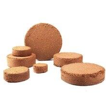Food-Compressed-Base Nutrient-Soil Pellet Garden-Accessories Plant 5pcs/Lot Coir Fiber