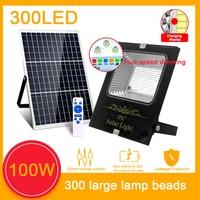 屋外ソーラーライト,300/200/70LED,ソーラーバッテリー,庭の照明,ディスプレイ付き