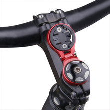 MTB Road Bicycle Computer Mount Holder Aluminum Ultralight Computer Stopwatch Speedometer Front Bike Stem Extension Support Hold