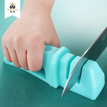 New sharpening artifact plastic household outdoor manual fast sharpening stone Multi-function sharpener kitchen tool 1pc quartz stone countertops seam tools vacuum adsorption splicer stone adjustment double suction cup multi function hand tool
