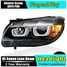 Scheinwerfer Für BMW E84 2008 2014 LED/Xenon Abblendlicht Fernlicht LED tagfahrlicht sequentielle drehen signal 1 Paar