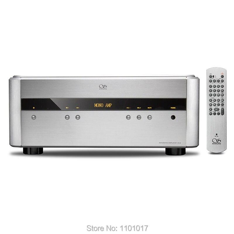 Shanling A3.2 amplificateur haut de gamme HIFI EXQUIS 200Wx2 Mono, stéréo, Pur puissance, ampli Intereated 4 Modes 2SC3264 2SA1295 avec télécommande-in Amplificateur from Electronique    1