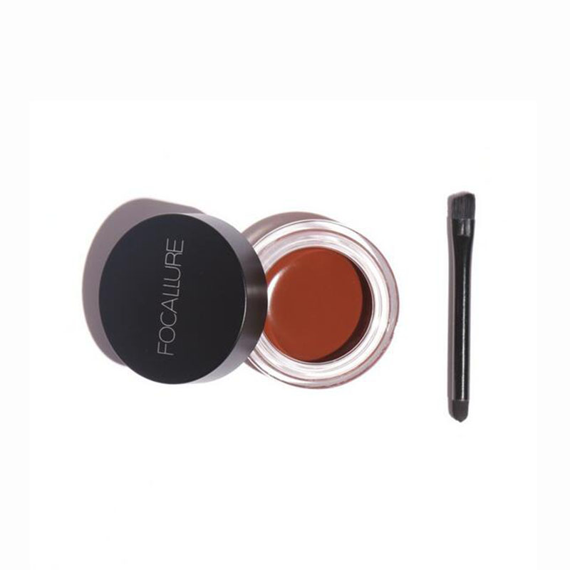 5 Color Eyebrow Tint Makeup Waterproof Eyebrow Pomade Gel Enhancer Cosmetic Eye Makeup Eye Brow Cream with Brush Professional 5