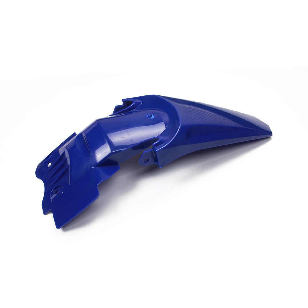 Blau Weiß Kunststoff Verkleidung Fender Kit für YAMAHA TTR110 TTR 110 Pit Dirt Bike