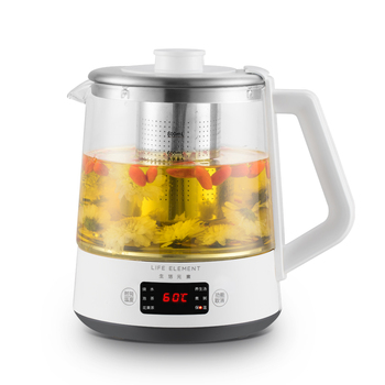 800ml Electric Automatic Kettle Health Preserving Pot Multi-function Tea Maker Mini Glass Boiled Tea Pot with Filter 220V