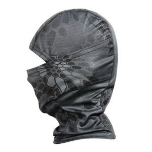 Image 3 - Sport Tactical Camouflage Balaclava Outdoor Full Face Cover Bicycle Hunting Hiking Cycling Airsoft Army Mask Military Liner Cap