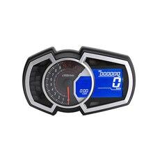 Универсальный жидкокристаллический измеритель скорости, скорости, температуры воды и масла подходит для Ninja 650 с одним цилиндром