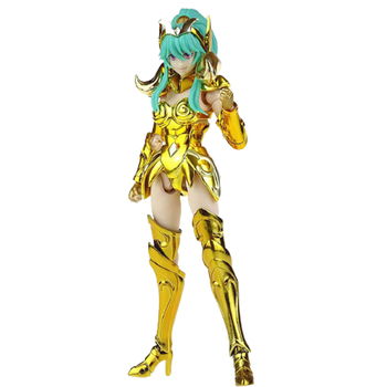 In Stock GT Great Toys Model Saint Seiya Myth Cloth Ex Aries Warrior Female Girl Holy Contrackt Dolores PVC Action Figure 1