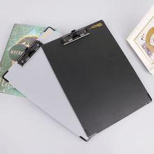 Carpeta de archivos portapapeles A4, tableta de escritura a mano, organizador de firma de conferencia con soporte para bolígrafo