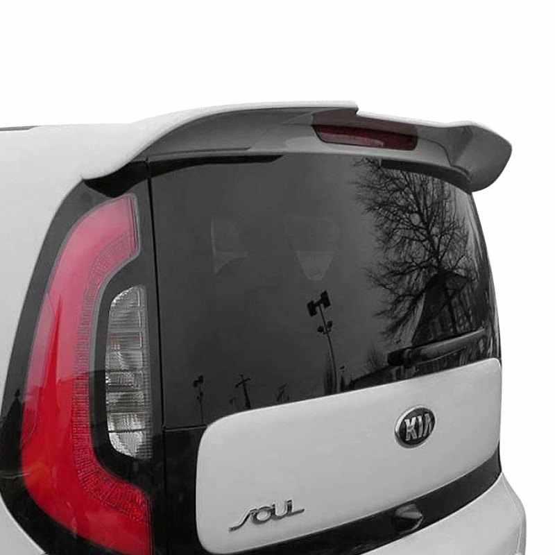 Lyclyb Alta qualit/à ABS Spoiler del Tetto Posteriore per Kia Soul Spoiler ST SY 2010-2015 2011 2012 2013 2014 Coda Decorazione Accessori Auto