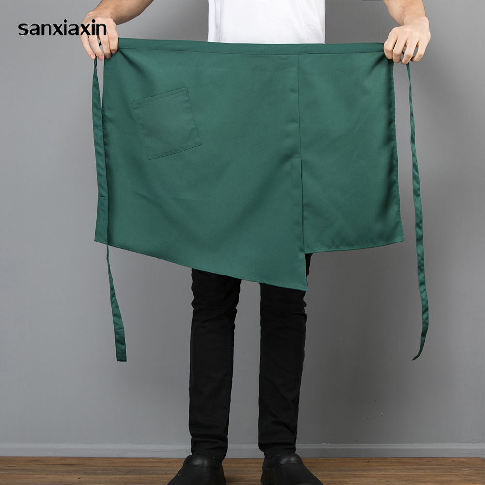 Restaurant Bake Wholesale Chef Apron Waiter Grilled Meat Oil-proof Barbecue Dessert Breakfast Home Flower Shop Household Apron