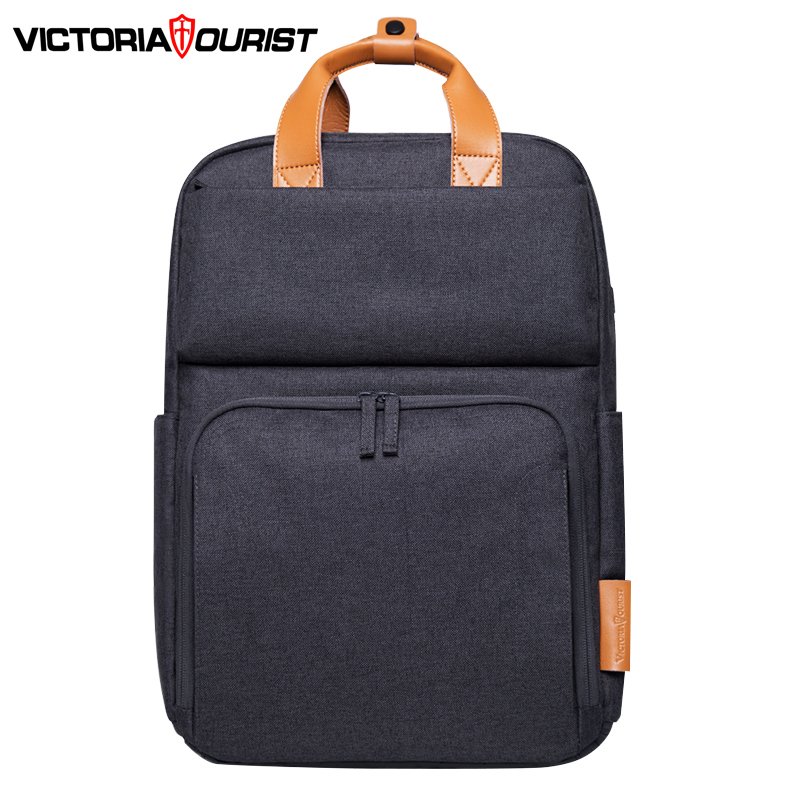 Victoriatourist Backpack men fashion backpack Superior quality multi-space large capacity Versatile for leisure work school