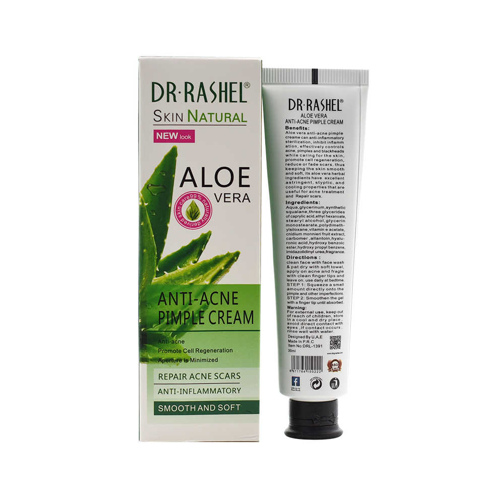 Dr. Rashel Anti Acne Puistje Crème Reparatie Acne Littekens Anti Inflammatoire Gezicht Schoonheid Gladde Huidverzorging Olie Controle Vera Aloë Gel