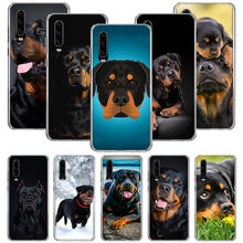 Rottweiler Hund Fall Für Huawei P40 P30 P20 P10 Mate 30 20 10 Pro Lite P Smart Plus + Z abdeckung Telefon Shell Coque(China)