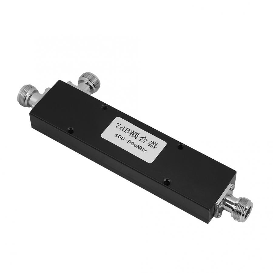 Transmission Cables 200W 7dB Coupler Signal Power Coupler Frequency 400-900MHz Power Splitter Frequency Coupler Data