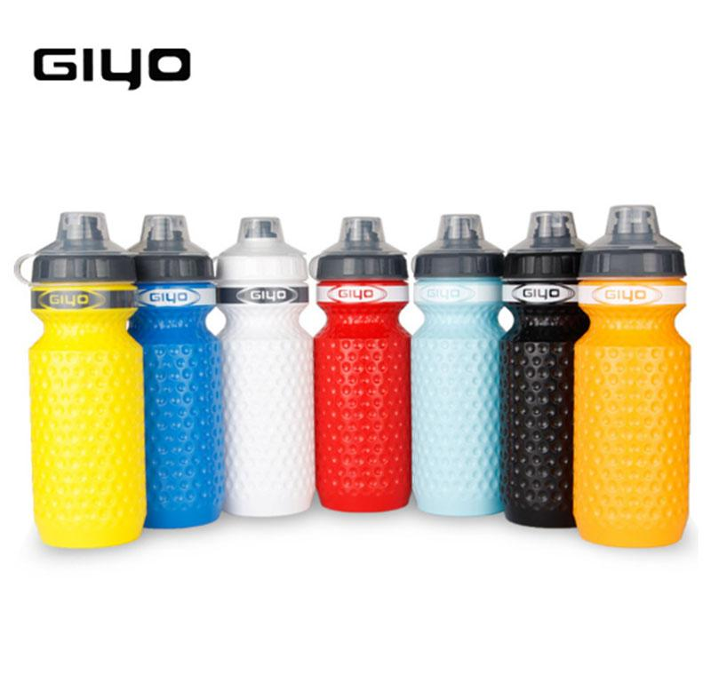 GIYO 600ML Bicycle Water Bottle MTB Cycling Camping Hiking Flask Outdoor Cup Sport Bike Kettle Waterbottle