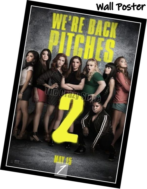 Pitch Perfect 2 Movie Home Decorative Painting White Kraft Paper Poster 42X30cm in Wall Stickers from Home Garden