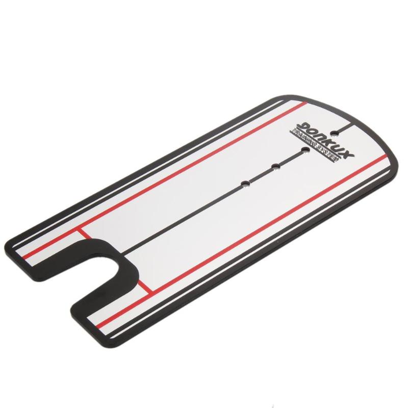 Golf Putting Mirror Alignment Training Aid Swing Trainer Eye Line