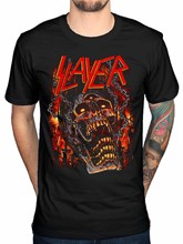 Official Slayer Meat Hooks T-Shirt Repentless World Painted Blood Chasing Death(1)(China)