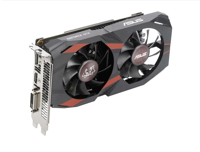 ASUS GTX1050ti 4G desktop computer graphics card used 90%new