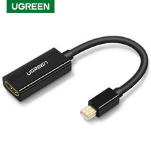UGREEN Mini DisplayPort to HDMI Adapter Mini DP Male to HDMI Female Thunderbolt 2.0 to HDMI Adapter 4Kx2K/30Hz Mini DP to HDMI