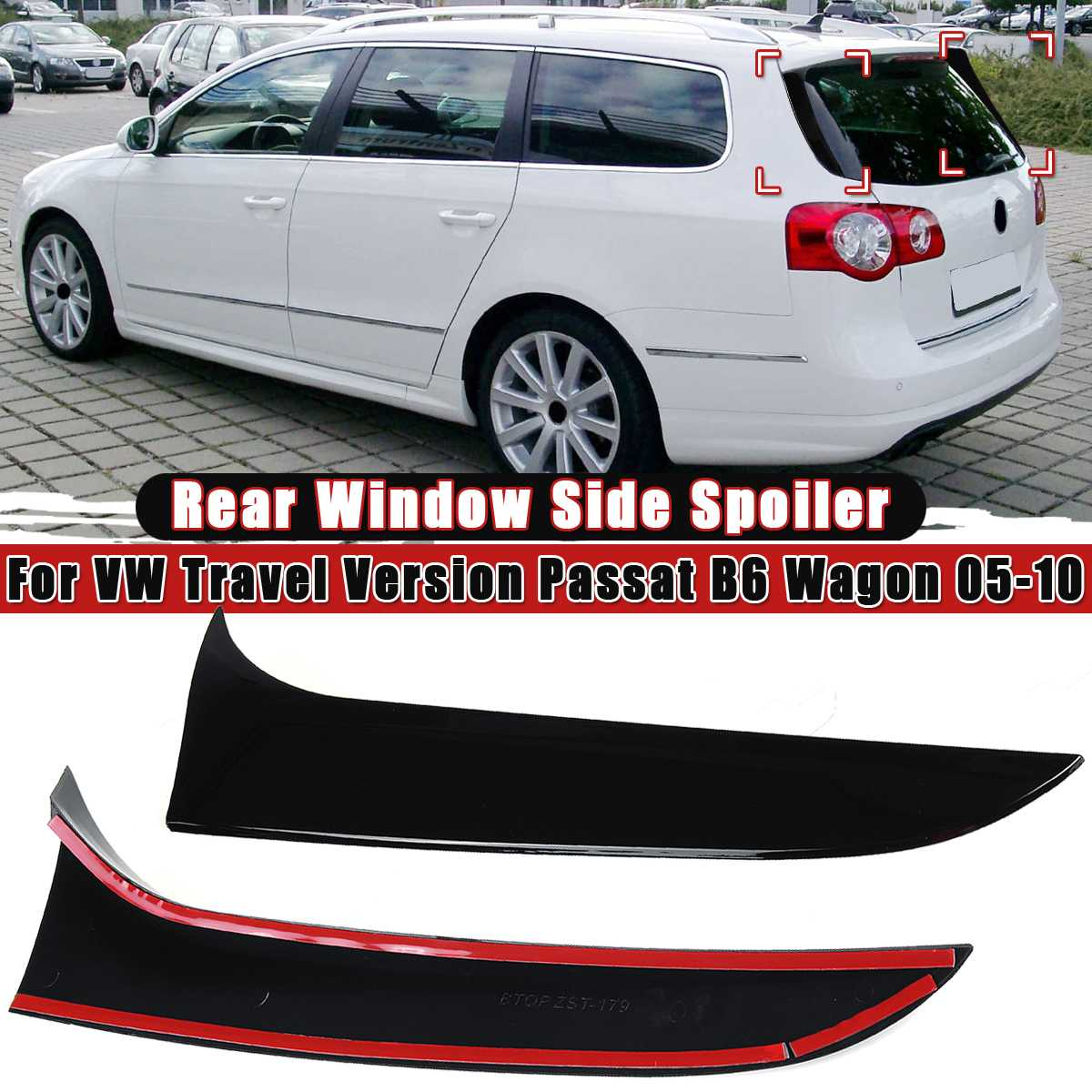 Boot Spoiler Wing Fits VW Eos Pre Facelift 2006-2010