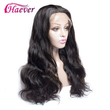 Haever Brazilian Body Wave Wig 13*4 Closure Human Hair Lace Front Wigs For Black Women Pre Plucked Remy 150%