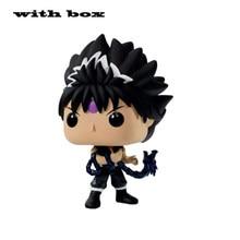 Pop novo yuyu hakusho hiei 547 # com caixa de vinil ação & brinquedo figuras collectible modelo brinquedo para crianças