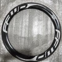 Two 700C motorway bikes 38 50 60 88mm K UD 12 k carbon fiber wheels bicycle carbon wheels 23 25mm width free issue