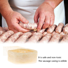 Edible Sausage Casing Packaging Pork Intestine Sausage Tube Casing Sausage Tool
