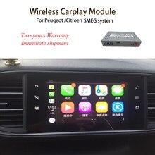 Autoradio Android Carplay/Apple, WIFI, sans fil, miroir avant/arrière, compatible CM, pour voiture Peugeot 308, 2013, 2014, 2015, 2016, 2017