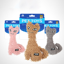 Kawaii Colorful Plush Wear Resisrtant Durable Chew Toys for Cat Pet Kitten Amusement Chew Scartch Pet Toys Pet Supplies Gifts solid color wood wear resistant durable chew toys for pet cat amusement intelligent cat toys interactive pet supplies kitten