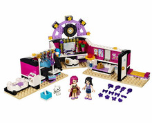 BELA 10404 Livi Pop Star Dressing Room Building Blocks Toys Compatible with Lepining Friends bricks 41104 for Girl bela friends 3189 girl mia farm stables building bricks blocks set gift toys for children compatible with lepine friends